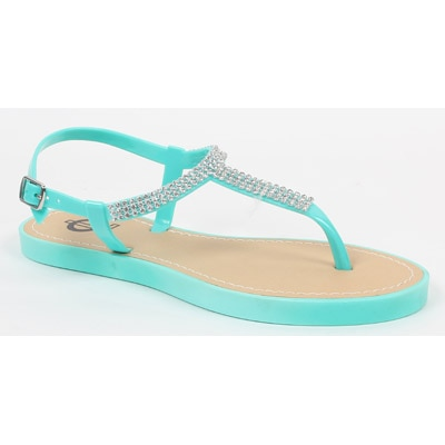 Carlton London Green Sandals