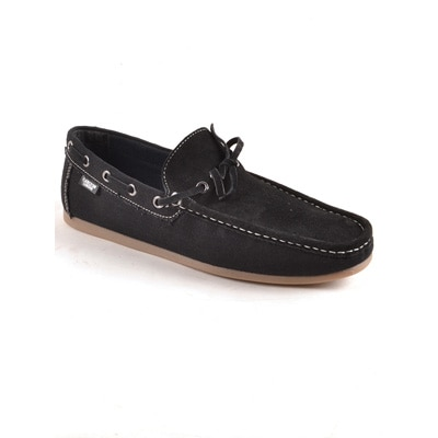 Carlton London Black Loafers