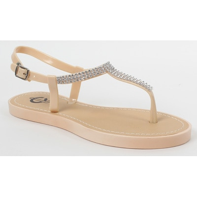 Carlton London Beige Sandals