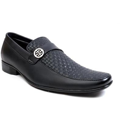 Chris Brown Black Formal Shoes