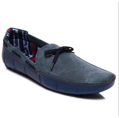 Clubcomfort Blue Stylish Mens Loafers