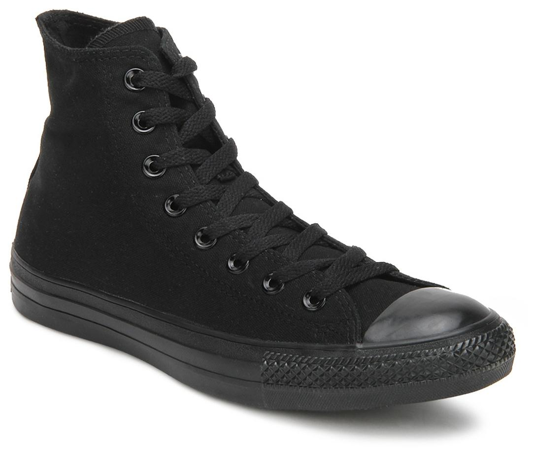 7e2bac8890b2 Converse As Canvas Mono Hi Black Sneakers for Men online in India at ...