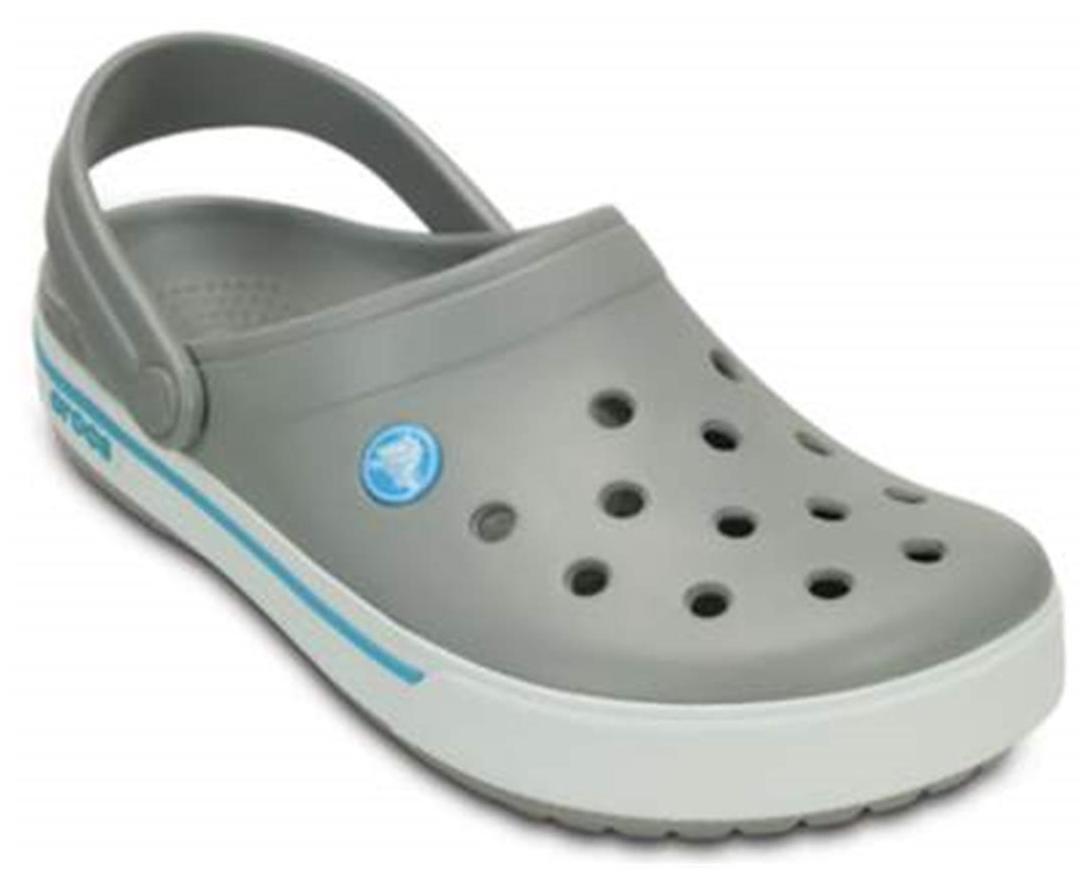 90337de8c48c6f Crocs Crocband Ii.5 Clog Grey Sandals for girls in India - Buy at ...