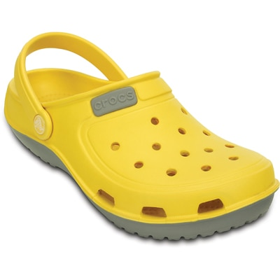 Crocs Duet Wave Clog Unisex Clog in Yellow