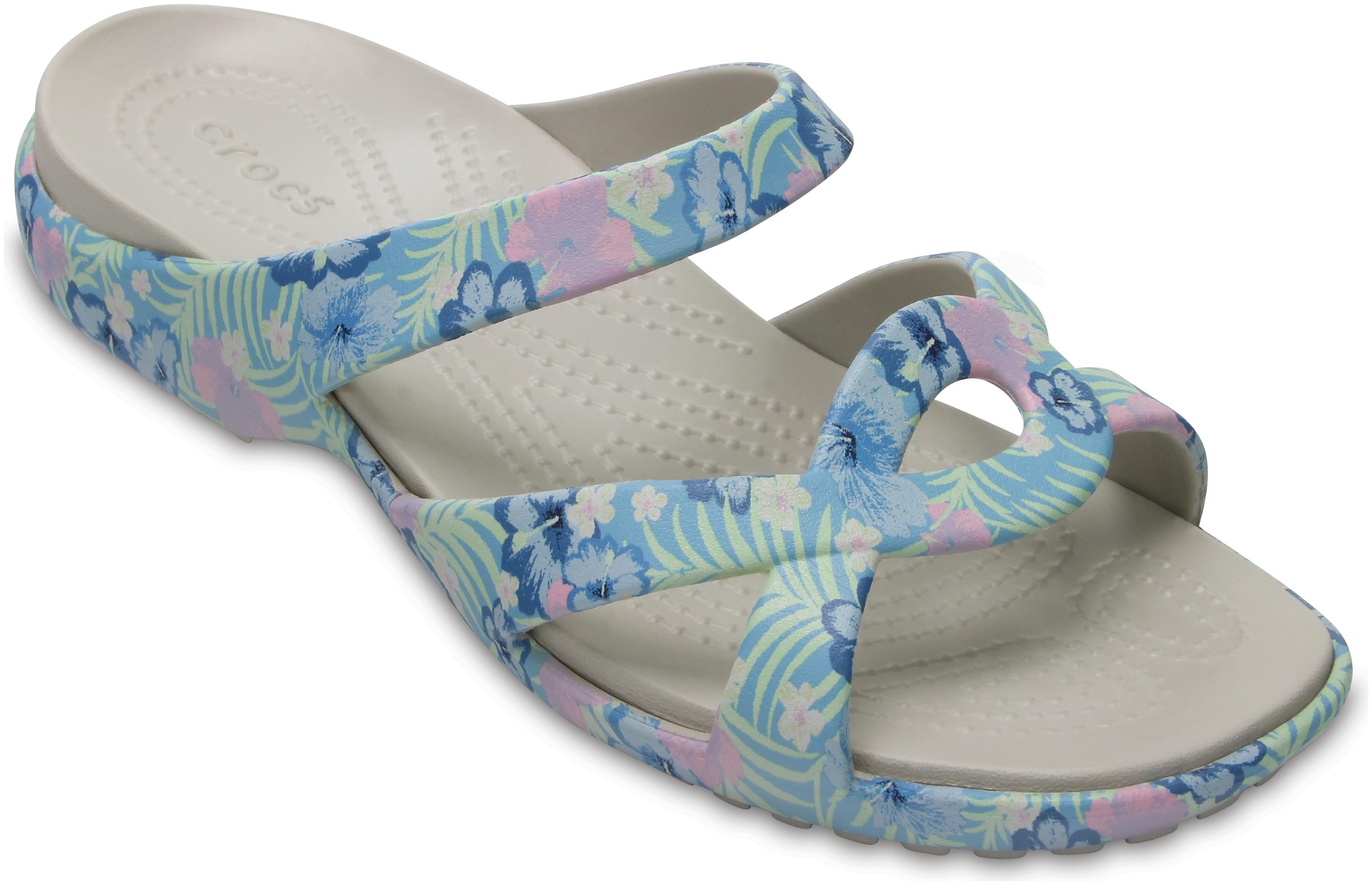cd0edf2de32f Crocs Meleen Twist Graphic Navy Blue Sandals for women - Get stylish ...
