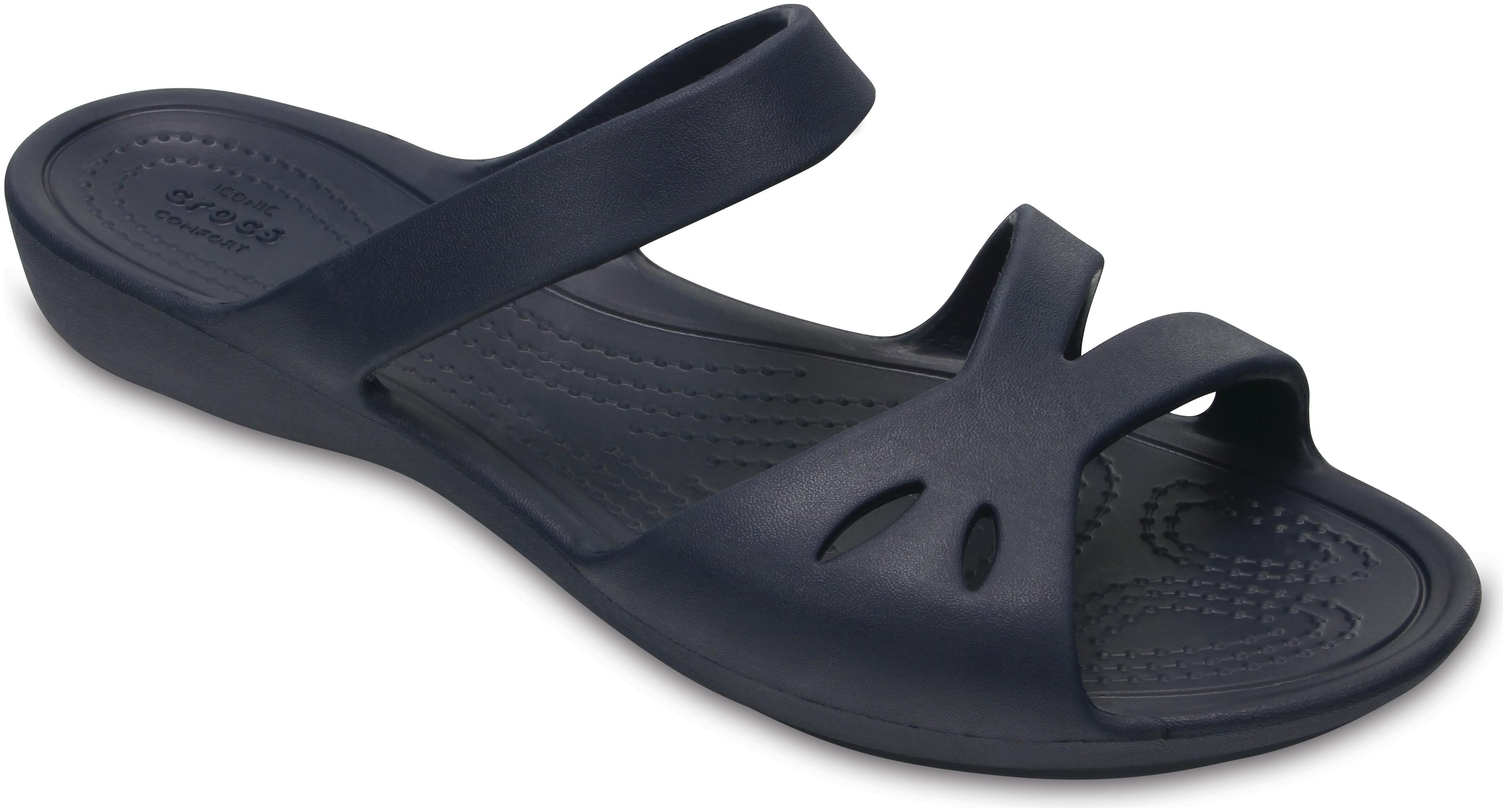 Crocs Navy Blue Sandals for women - Get stylish shoes for Every ... 8b2730290