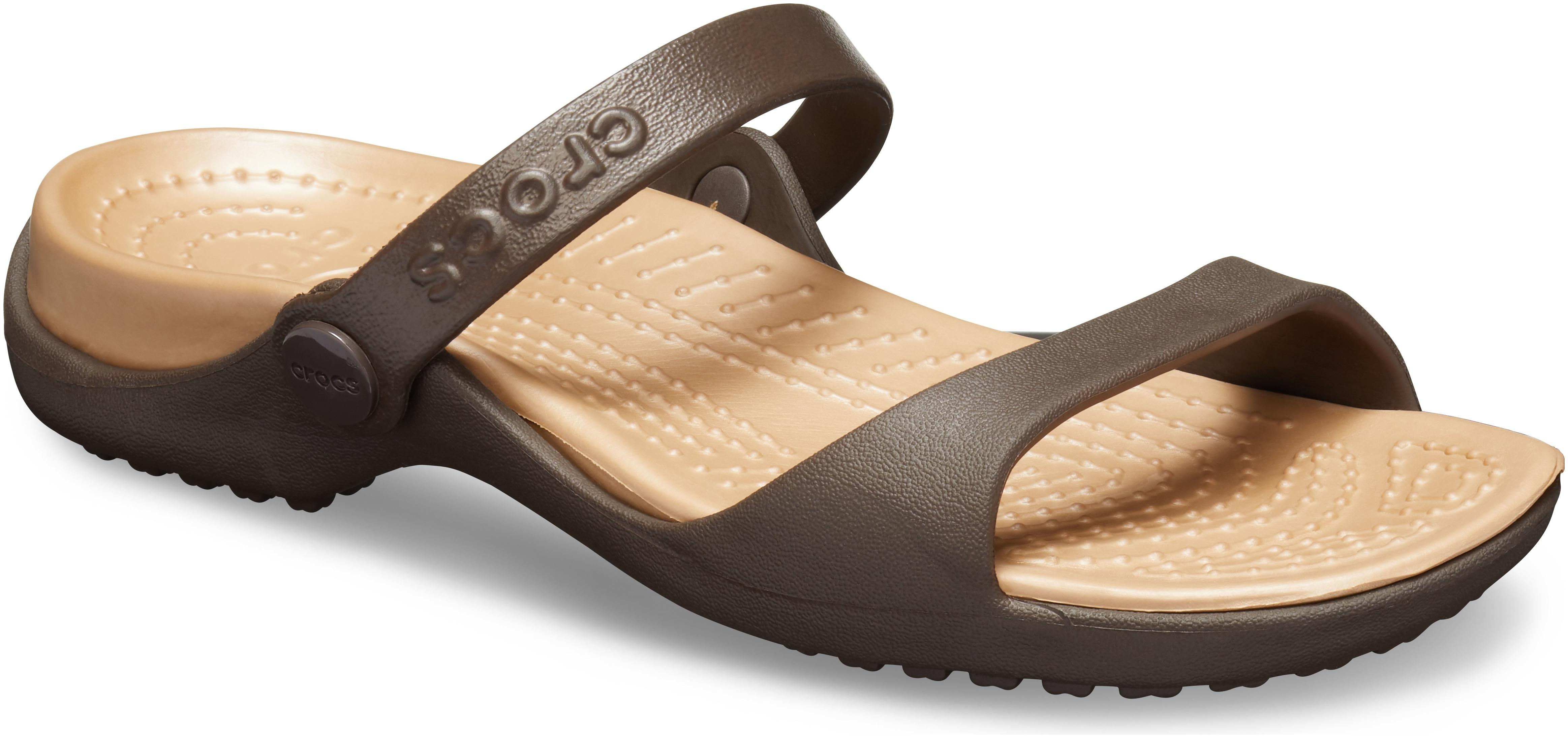 e8284e00f Crocs Patricia Brown Sandals for women - Get stylish shoes for Every ...