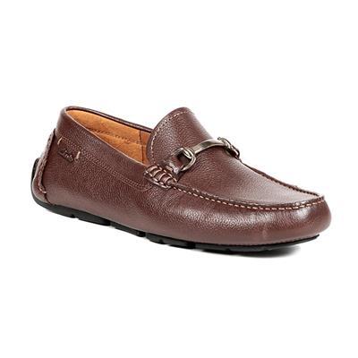 Clarks Men Brown Loafers