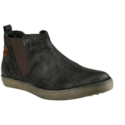 Delize Black Casual Shoes
