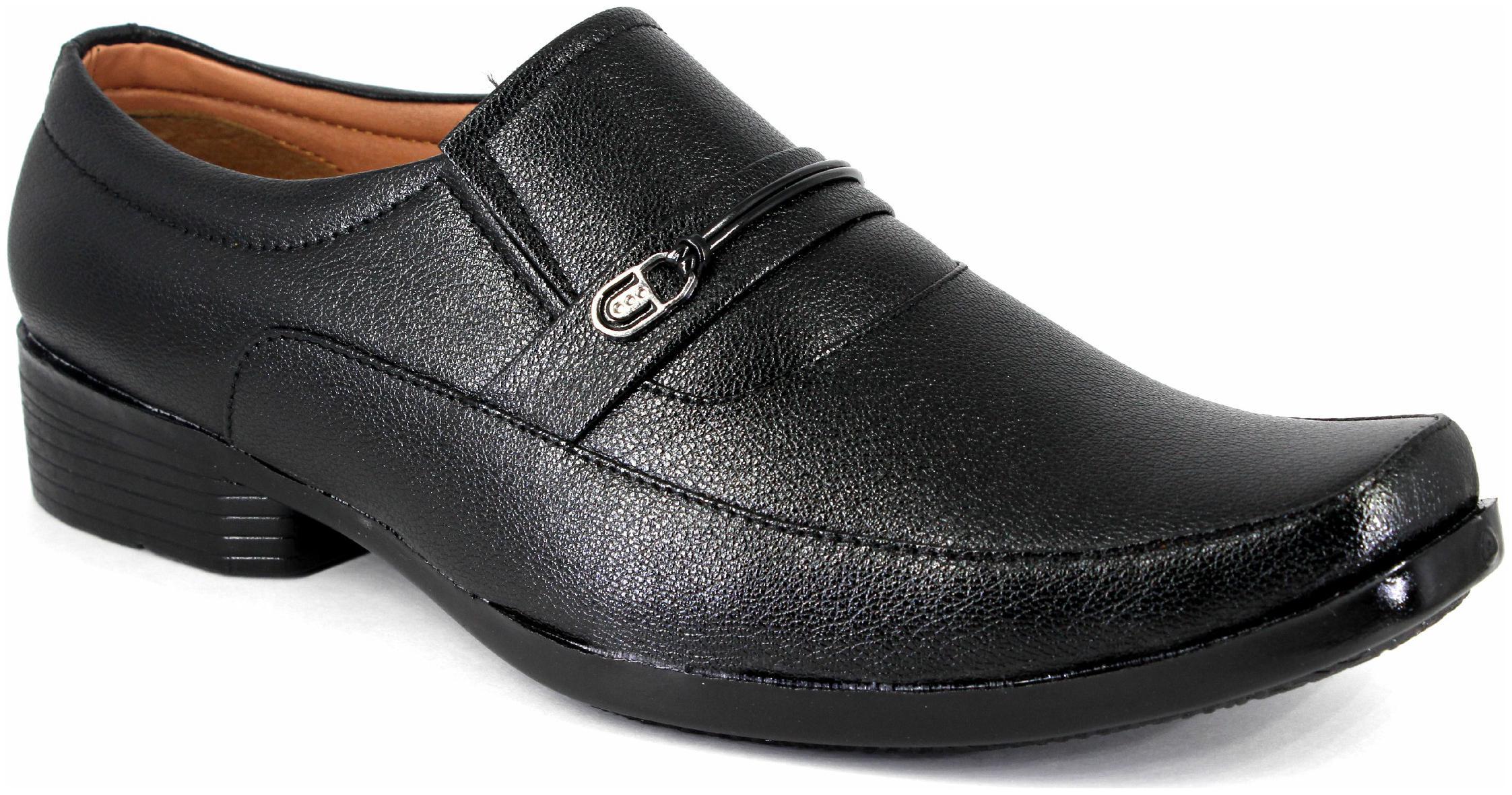 Duson Men Black Formal Shoes - Du1025 1