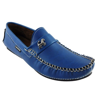 Elvace Blue Loafers