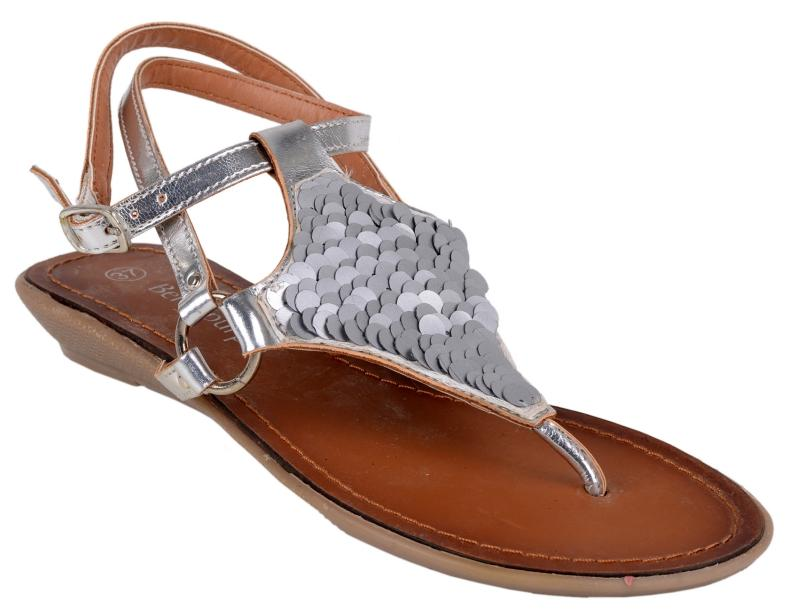 Berry Purple Silver Women Sandals