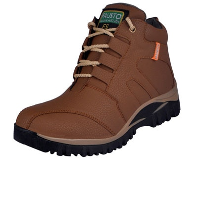 FAUSTO Tan Men's Boots