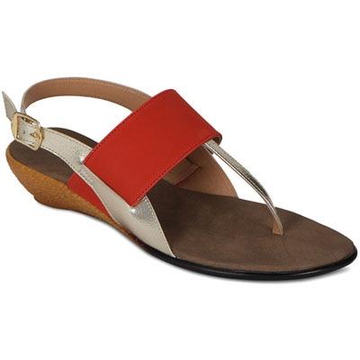 Flora Orange Women Sandals