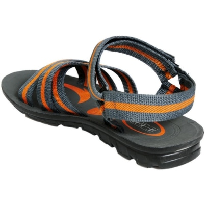 FTR Grey and Orange Sandals