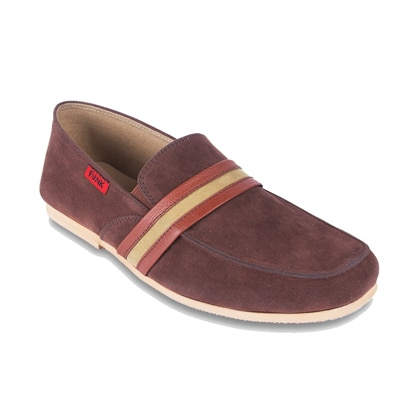 Funk Brown Loafers (Size-6)
