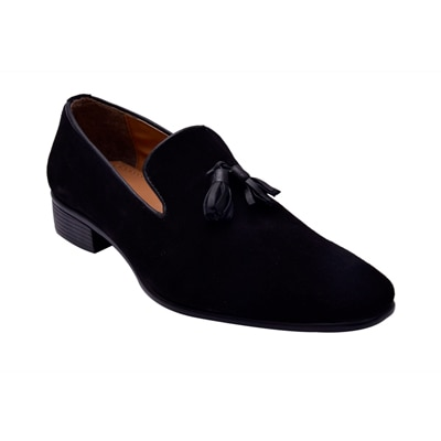 HiRel's Suede Leather Tassel Loafers