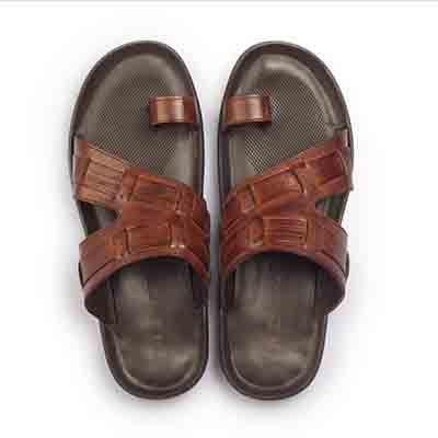 Hitz Tan Slippers