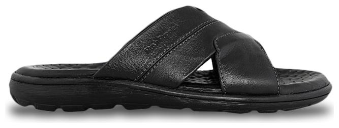 28603d501e29 Hush Puppies Charles Mule Black Slippers for Men online in India at ...