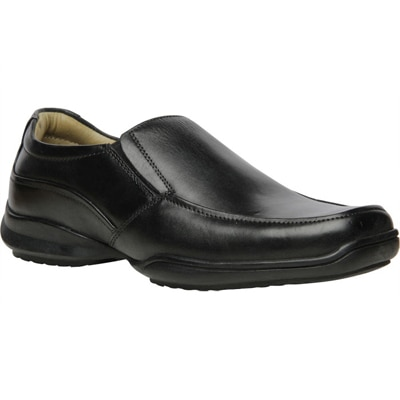 Hush Puppies Black Formal Shoes