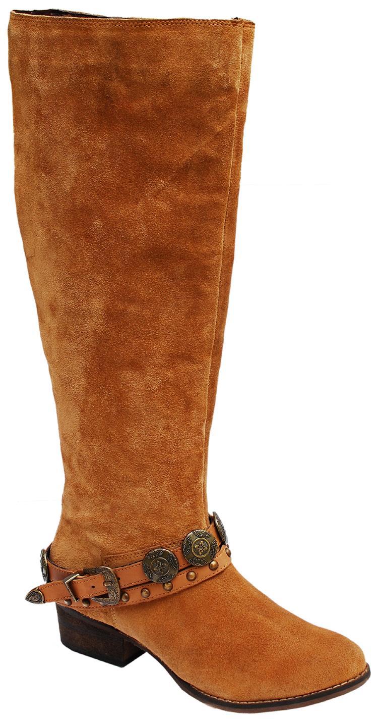 iLO Tan Boots