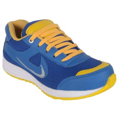 Jokatoo Kids Energy||Blue And Yellow Running Sports Shoes