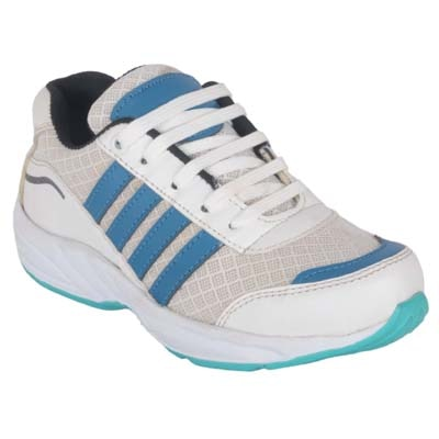 Jokatoo Kids Energy || White Running Sports Shoes