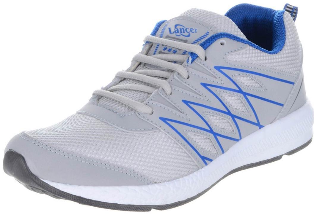 Lancer Men Running Shoes ( White )-bzp