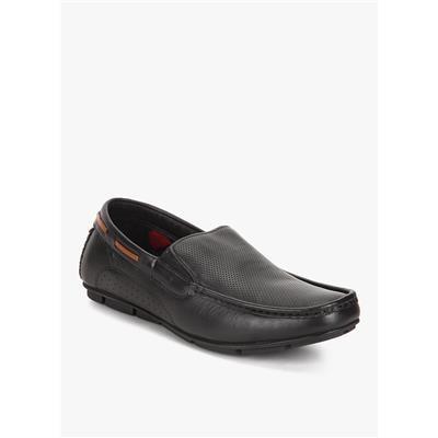 Lee Cooper Black Men Loafers-Lc2068 Black