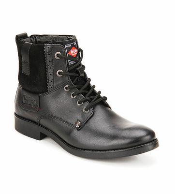 Lee Cooper Black Dress Boot