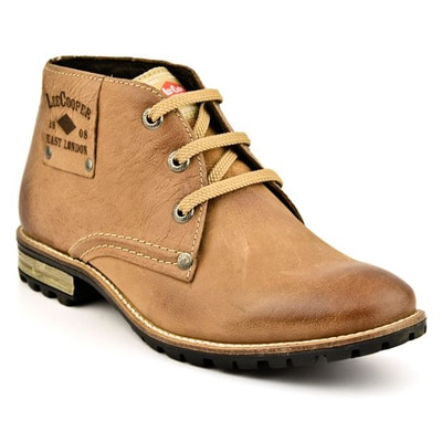 Lee Cooper Men's Beige Boot