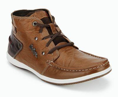 Lee Cooper Tan Smart Casuals Shoes