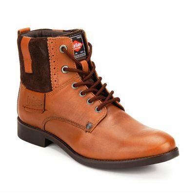 Lee Cooper Tan Dress Boot