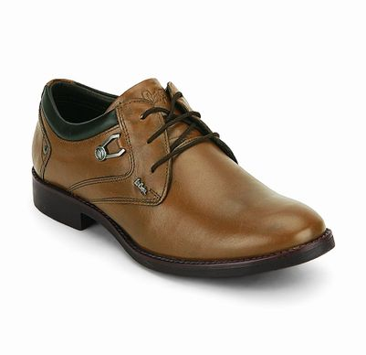 Lee Cooper Tan Formal Shoes