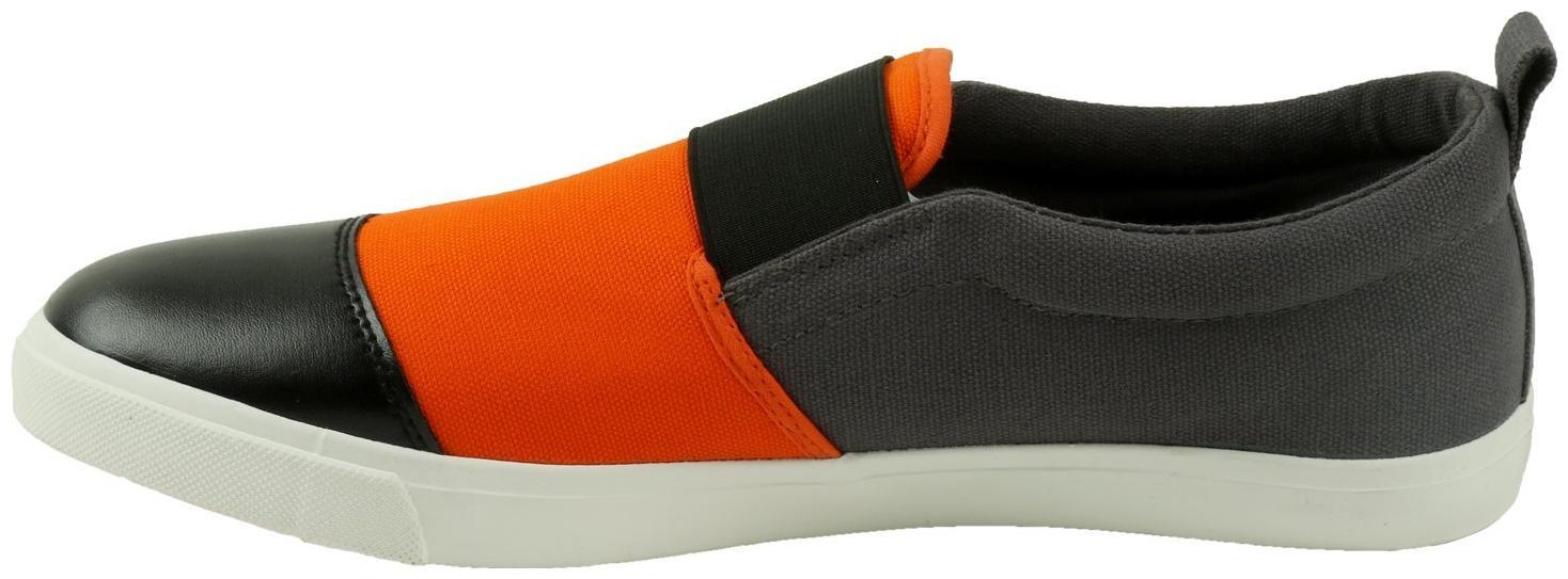 Lotto Men's Gian Grey/Orange Running Shoes - 9 UK/India (43 EU)(S7V4776-282)