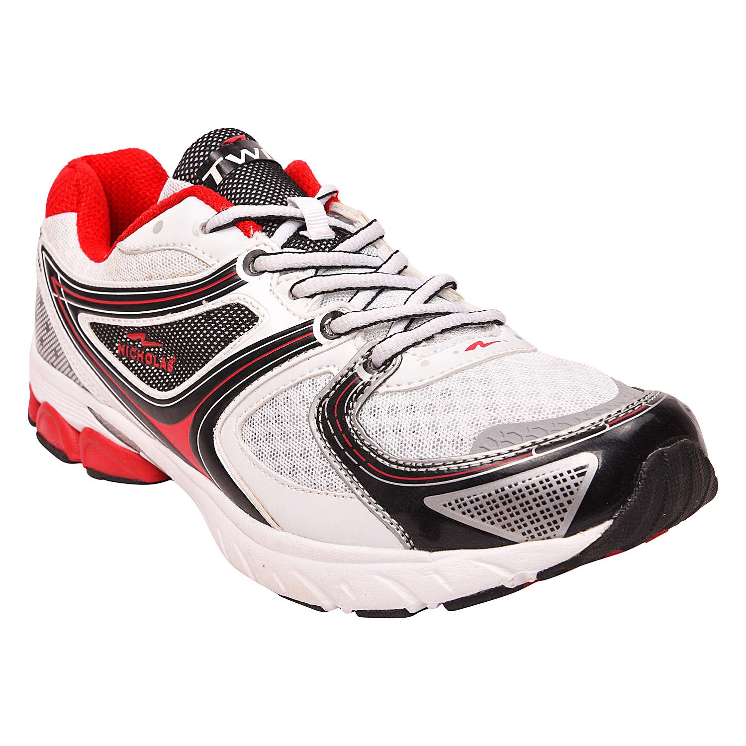 Mens Sports shoe TPH-919_White and Red colour