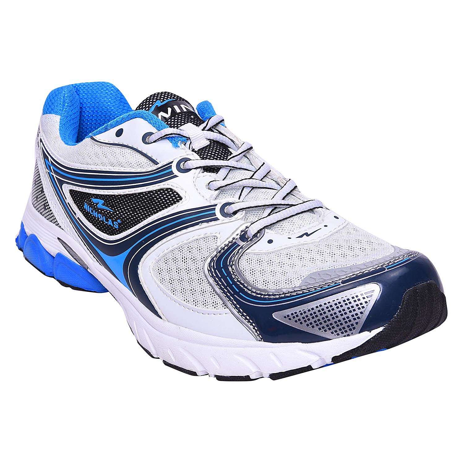 Mens Sports shoe TPH-919_White and Blue colour
