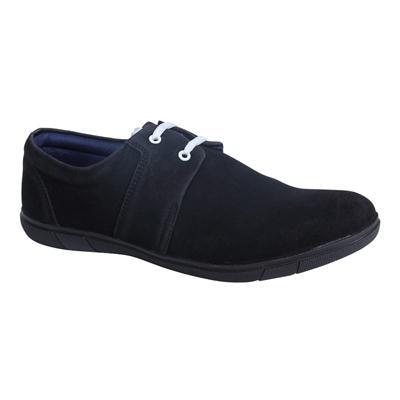MONKX-Lace Up Black Casual Shoes