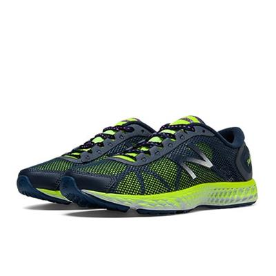 New Balance Women WX822HD Black and Lime Green Running Shoes
