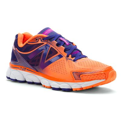 New Balance Women W1080OP5 Orange Running Shoes