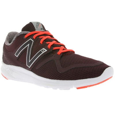 New Balance Men MCOASBF Burgundy and Orange Running Shoes