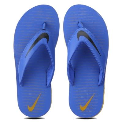 a5166d7246a8 Nike Men s Chroma Thong 5 Blue Flip Flops