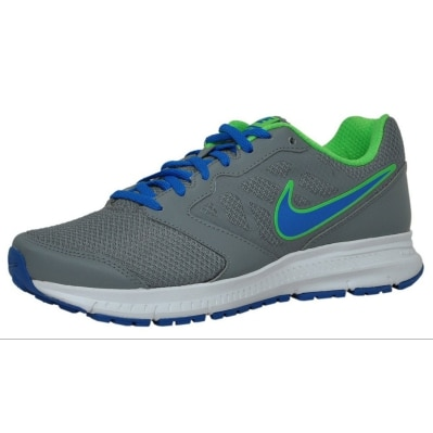 Nike Men's Downshifter 6 Msl Grey- Soar Blue Running Shoes