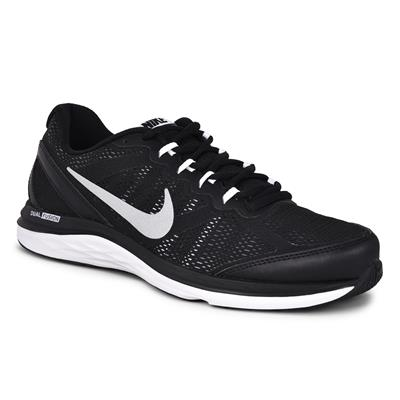 Nike Men's Dual Fusion Run 3 MSL Black Running Shoes
