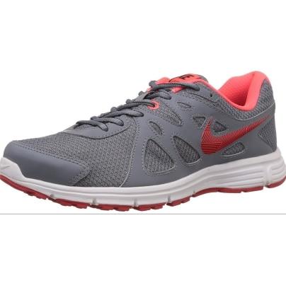 Nike Men's Revolution 2 Msl Cool Grey,Black,Bright Crimson,University Red,White Running Shoes