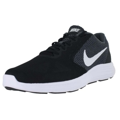 Nike Mens Revolution Iii Black Running Shoes