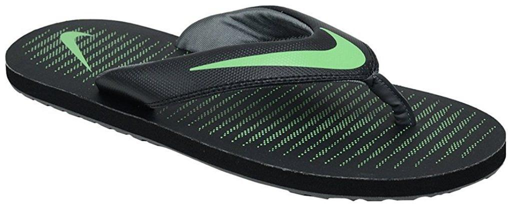 86b90eba21a Nike Keeso Thong Black Slippers for Men online in India at Best ...