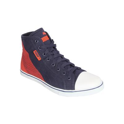 Puma Men Blue Ankle length Sneakers Streetballer Mid
