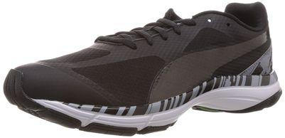 Puma Men's Mobium Unify Black-Tradewinds-Black Mesh Running Shoes - 7 UK/India (40.5 EU)