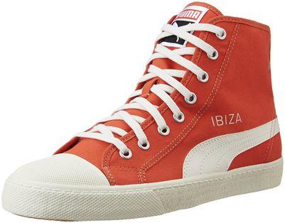 Puma Men's Puma Ibiza Mid Nm #1 Unisex Poinciana Sneakers - 6.5 UK/India (40 EU)